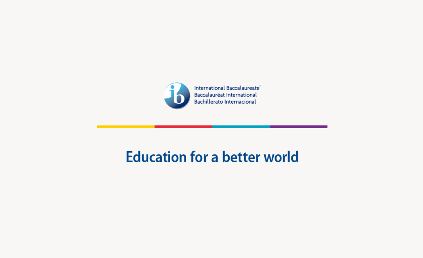 Education for a better World